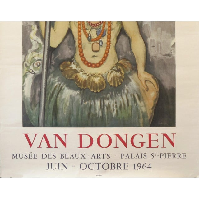 1960s 1964 Original French Festival Poster, Van Dongen For Sale - Image 5 of 6
