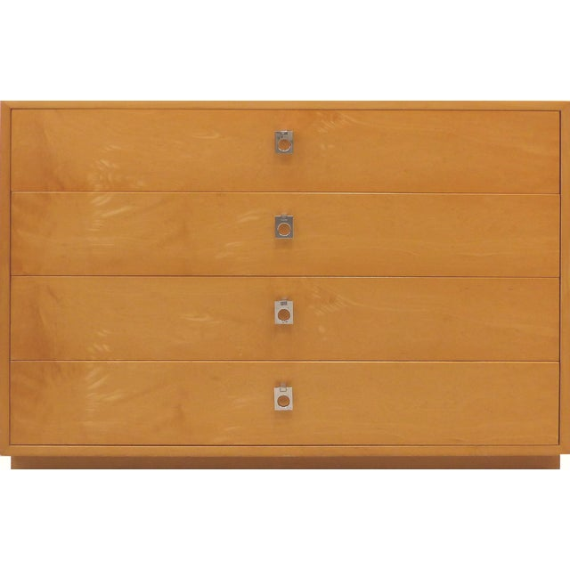 Tan Mid century Maple Dresser by Jack Cartwright for Founders Furniture For Sale - Image 8 of 8