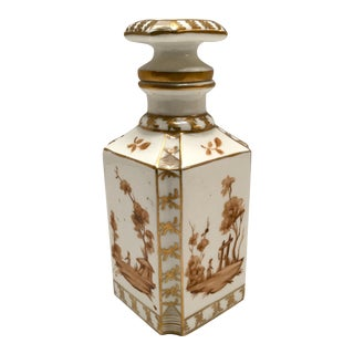 Hand-Painted Spanish Perfume Bottle For Sale