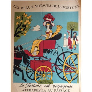 1900s Vintage French Poster For Sale