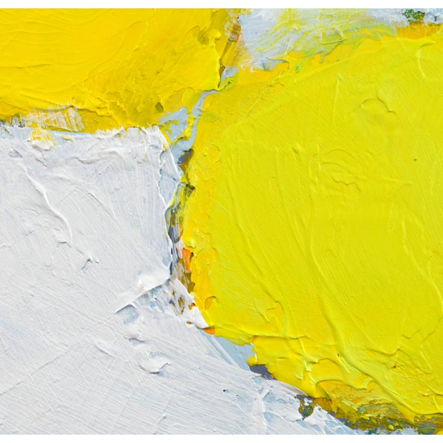 Aluminum 'Color Composition' Original Abstract Painting by Lars Hegelund For Sale - Image 7 of 11