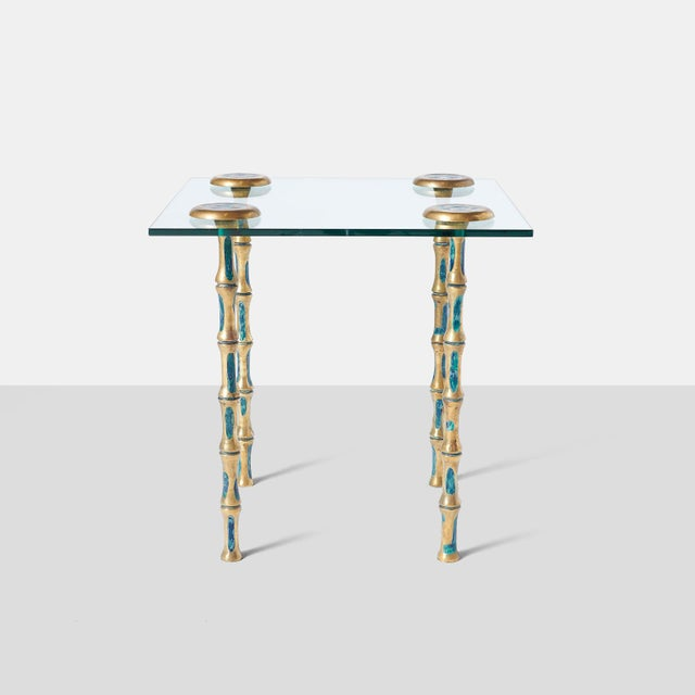 Pepe Mendoza Pair of Side Tables by Pepe Mendoza For Sale - Image 4 of 7