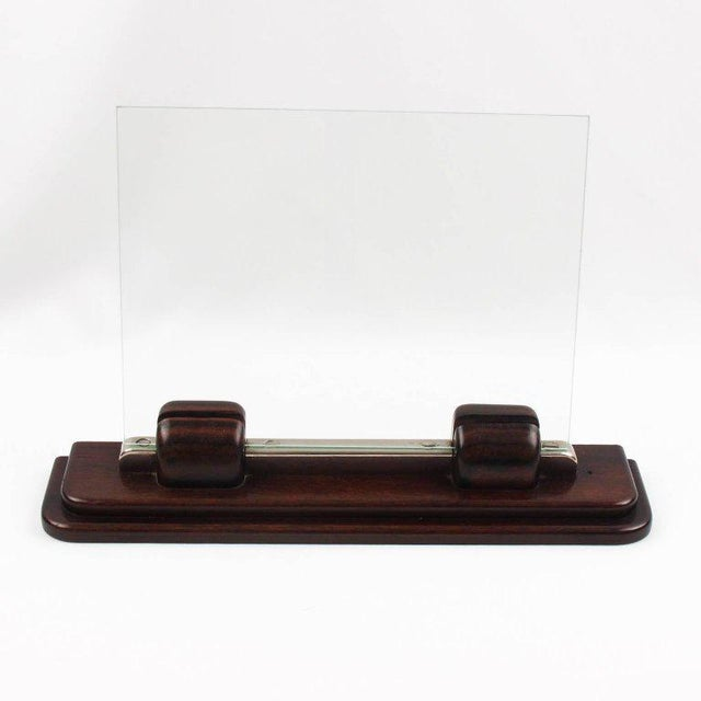 Art Deco Machine Age Macassar and Chrome Picture Photo Frame - Image 3 of 7