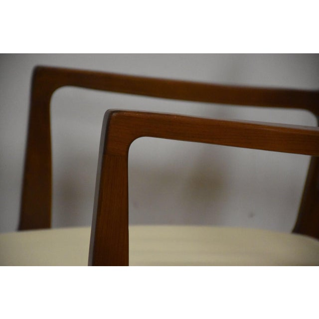 Textile Rway White Dining Chairs - Set of 8 For Sale - Image 7 of 10