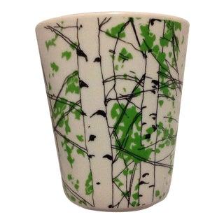 Marimekko Kaiku Birch Tree Ceramic Mug Cup