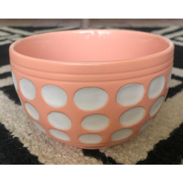 Peach Dot Bowl - Image 3 of 6