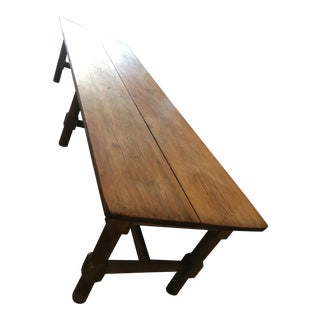 Vintage French Country Farmhouse Dining Table