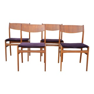 Teak Dux Dining Chairs - Set of 4