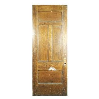 Four Panel Chestnut Door