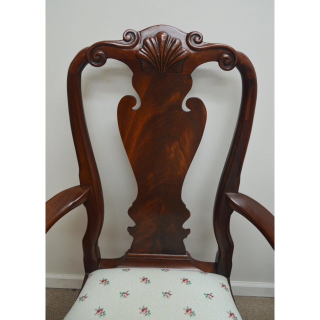 Wood Councill Set of 6 Mahogany Dining Chairs For Sale - Image 7 of 13