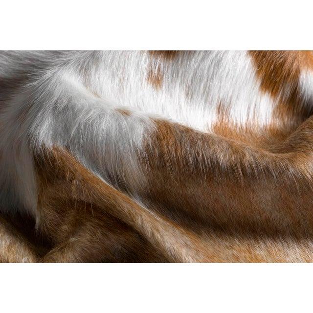 Handmade Cowhide Rug - 6′ × 7′ - Image 3 of 3
