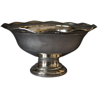 1953 Traditional Sterling Fluted Bowl For Sale