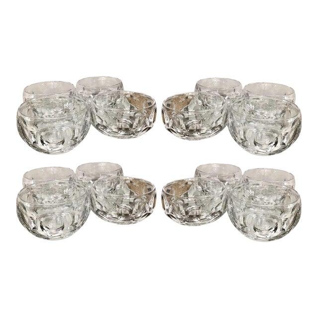 Signed Edinburgh Scottish Crystal Bowls - Set of 16 For Sale