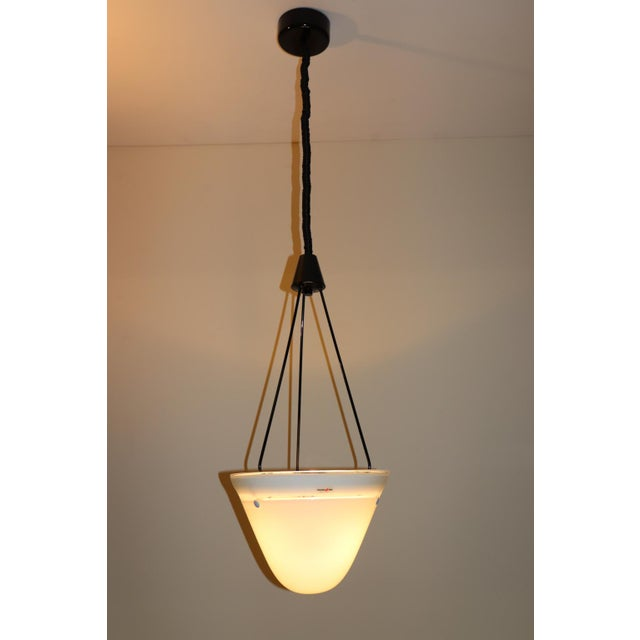 Mid-Century Modern Murano Glass Pendant Lamp For Sale - Image 13 of 13