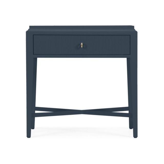 Casa Cosima Myers Nightstand, Hale Navy For Sale - Image 4 of 4