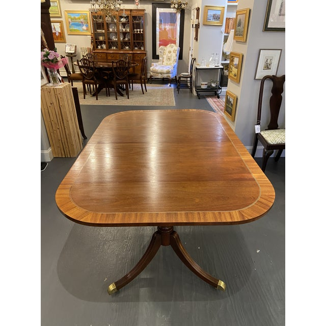 Traditional Vintage Council Craftsman Dining Table For Sale - Image 3 of 9