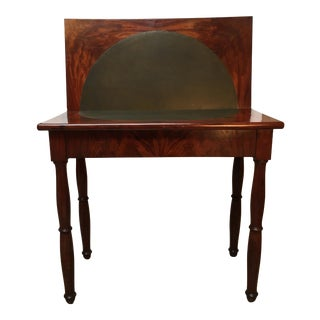 French Charles X Mahogany Game Table For Sale