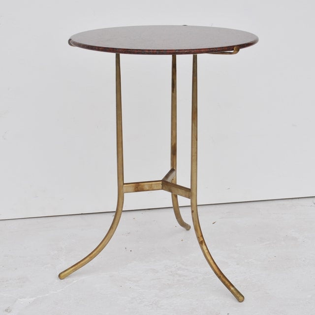 Cedric Hartman Pair of Granite Side Tables For Sale - Image 9 of 11