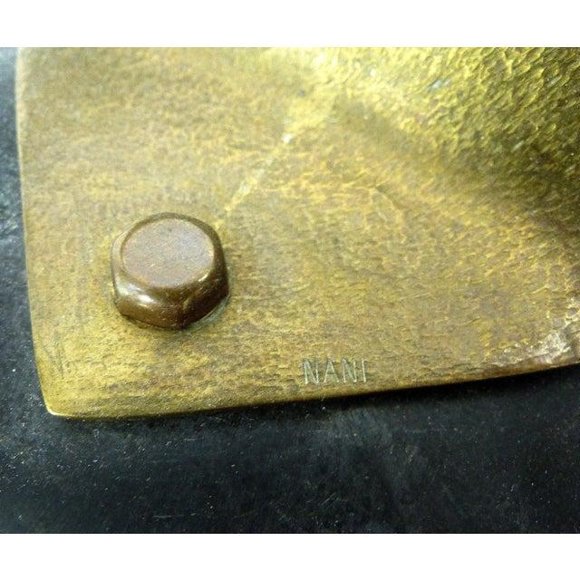 Vintage Brass Kinetic Sculpture - Image 4 of 10