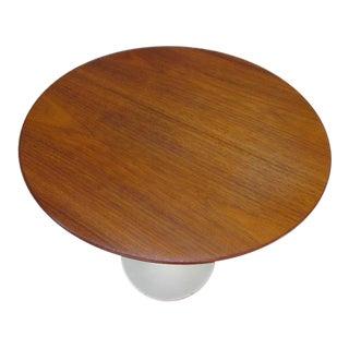 Saarinen for Knoll Round Walnut Tulip Table