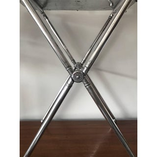 1940s Vintage Everlast Folding Aluminium Tray Table Preview