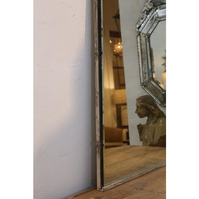 Gray Asymmetrically-Shaped Art Nouveau Mirror For Sale - Image 8 of 10