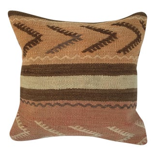Southwestern Woven Kilim Striped Pillow