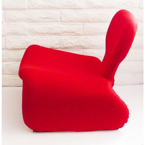Olivier Mourgue Djinn Chair by Olivier Mourgue for Airborne For Sale - Image 4 of 6