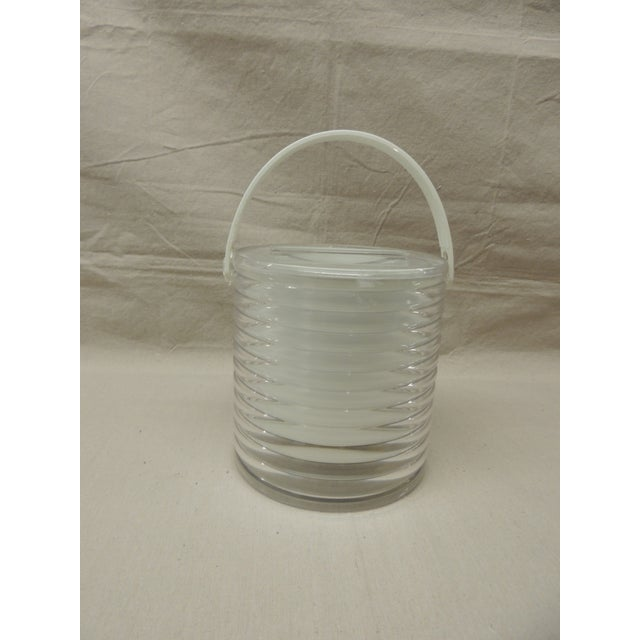 Vintage Lucite Ice Bucket - Image 2 of 4