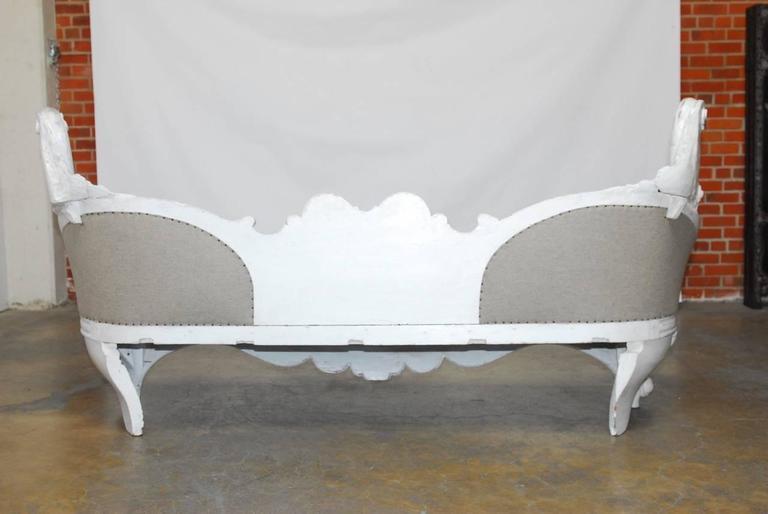 18th Century French Rococo Painted Sofa Chairish