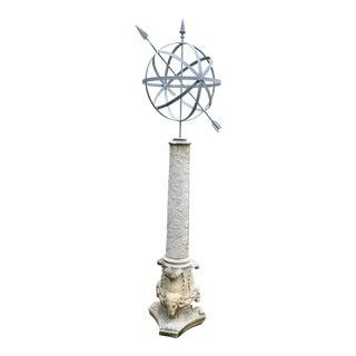 Monumental armillary For Sale