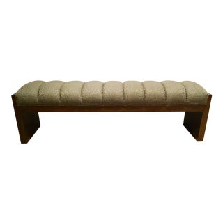 Thomasville Transitional Leah Mahogany Bench For Sale