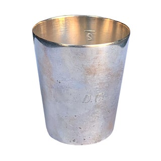 Silver Plated Jigger Cup For Sale
