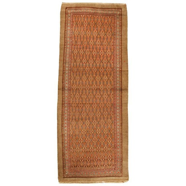 Contact Dealer. Antique north west persia runner. Excellent condition.