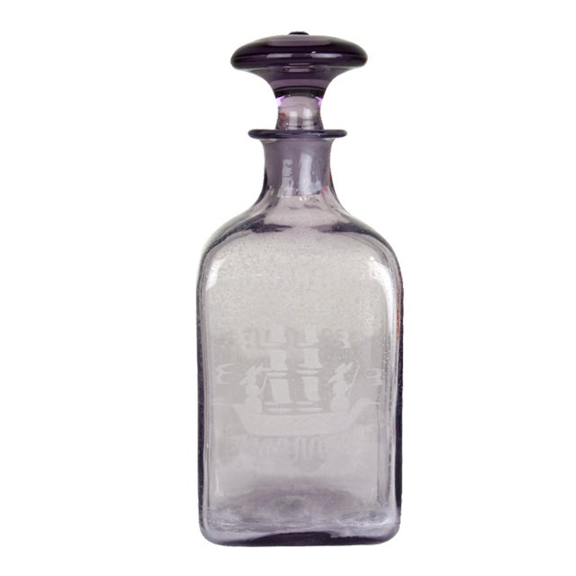 Vintage Nordic Liquor Decanter - Image 1 of 3