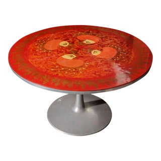 Bjorn Winblad Round Pedestal Dining Table