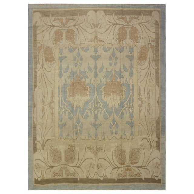 Oushak Wool Rug - 10 x 12 For Sale