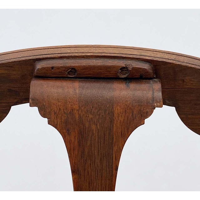 English Artist's or Display Easel With Carved Wood Accents For Sale - Image 12 of 13