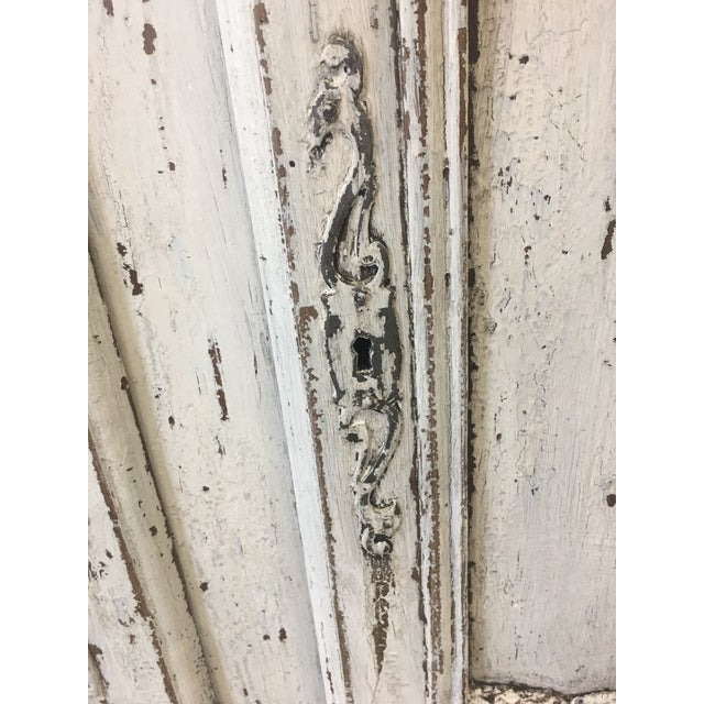 18th C French Provencal Three Door Painted Enfilade Sideboard For Sale - Image 12 of 13