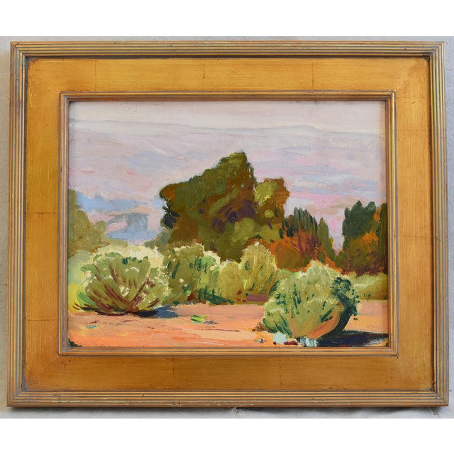 George Barker(1882-1965), Plein Air California Landscape Oil Painting For Sale - Image 10 of 10