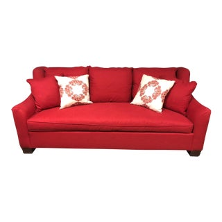 Hickory Chair Red Sutton Sofa For Sale
