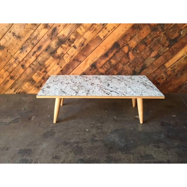 Mid-Century Formica Coffee Table