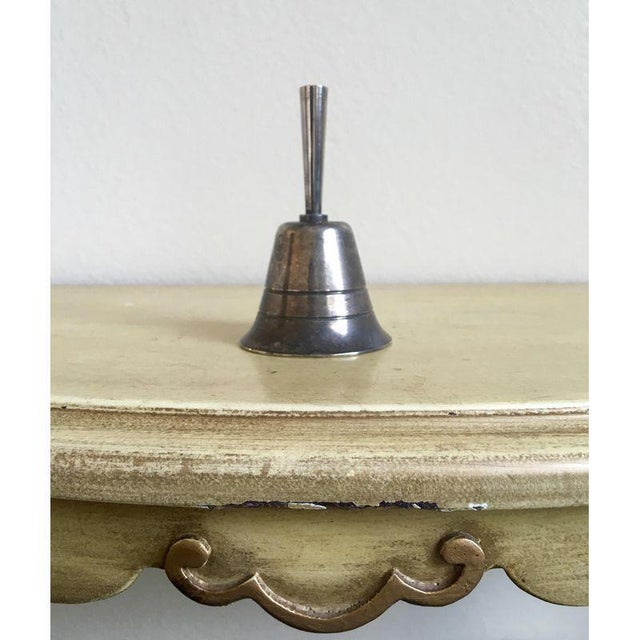 Vintage Victorian Petite Silver Bell - Image 2 of 4