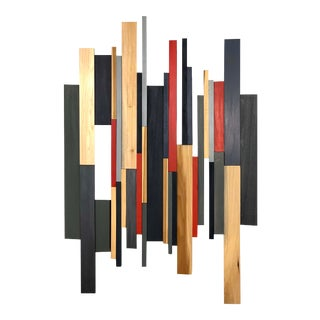Abstract Modern Wooden Artwork For Sale