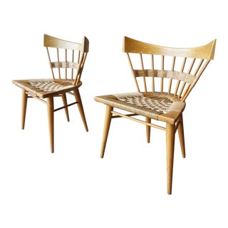 Pair of Rare Edmond Spence 'Yucatan' Chairs. For Sale