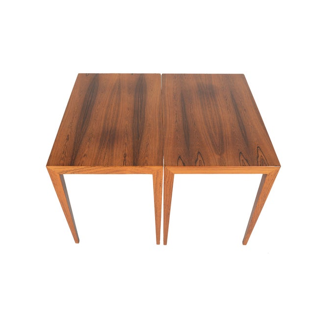 Severin Hansen Rosewood Side Tables - A Pair - Image 4 of 10