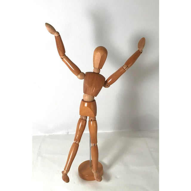 20th Century Figurative Artist Model of Articulating Man For Sale - Image 9 of 11