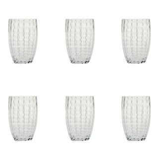 Perle Tumbler in Transparent - Set of 6 For Sale