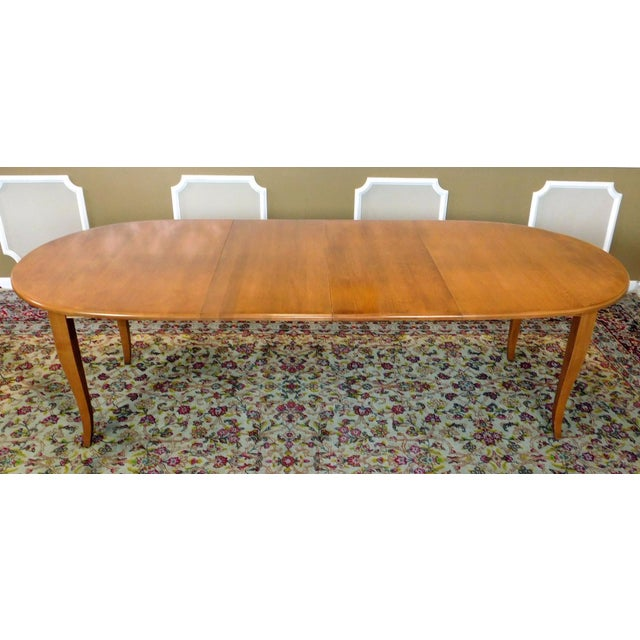 Ethan Allen Country Colors Wheat Dining Set - Image 5 of 11