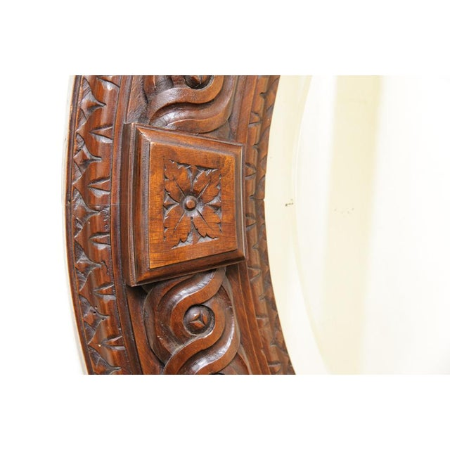 Italian Antique Wall Mirror For Sale - Image 4 of 6